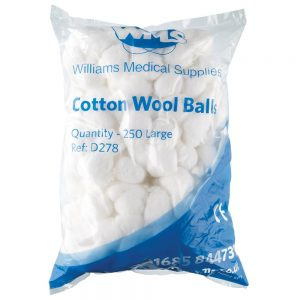 Swabs and Cotton Wool